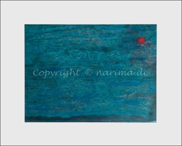 0147 - Bild ohne Titel - 2020/09 - Original: Acryl auf Papier - ca. 33 x 41 cm