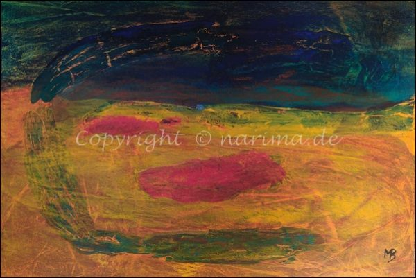 0149 - Bild ohne Titel - 2020/09 - Original: Acryl auf Sperrholz - ca. 40 x 60 cm