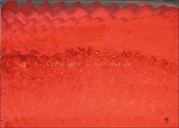 0172 - Bild ohne Titel - 2021 - Original: Acryl auf Vlies - ca. 50 x 70 cm