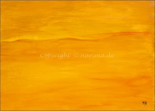 0173 - Bild ohne Titel - 2021 - Original: Acryl auf Vlies - ca. 50 x 70 cm