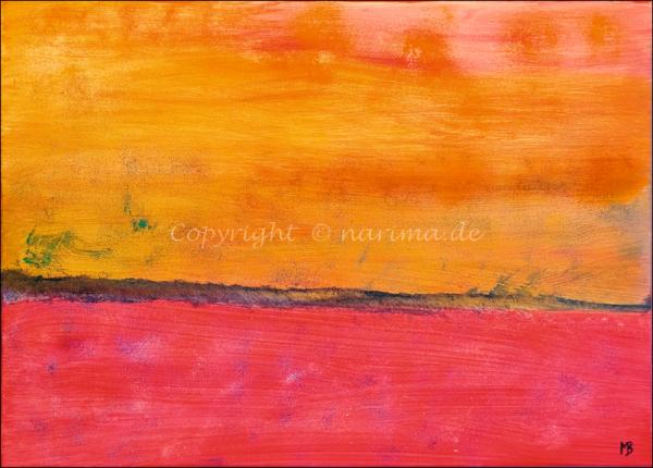 0184 - Bild ohne Titel - 2021 - Original: Acryl auf Leinwand - ca. 50 x 70 cm