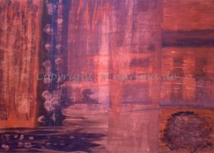 113 - Monument Valley - 2020/05 - Original: Acryl auf Vlies - ca. 48 x 69 cm