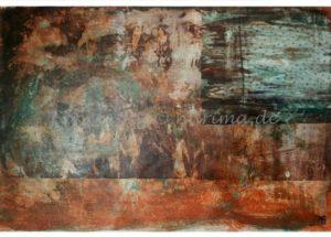 120 - Müll - 2020/06 - Original: Acryl auf Vlies - ca. 50 x 75 cm