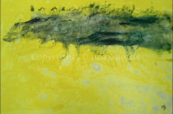 0156 - Bild ohne Titel - 2020/11 - Original: Acryl auf Vlies - ca. 50 x 70 cm