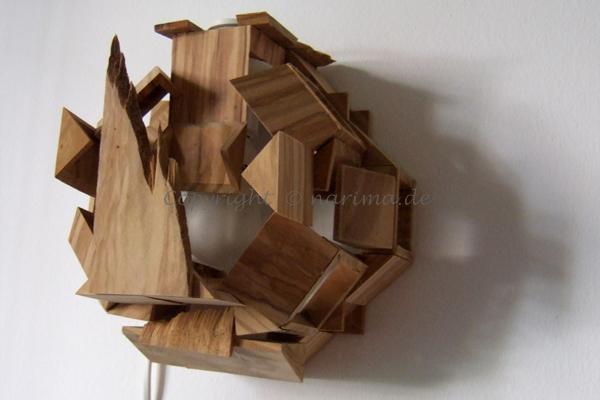 L3369 - Lampe - 2014 - Holz