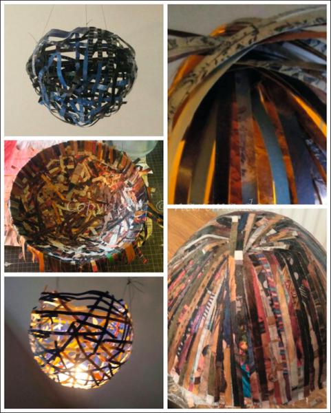 20210110 Collage - Papierobjekte